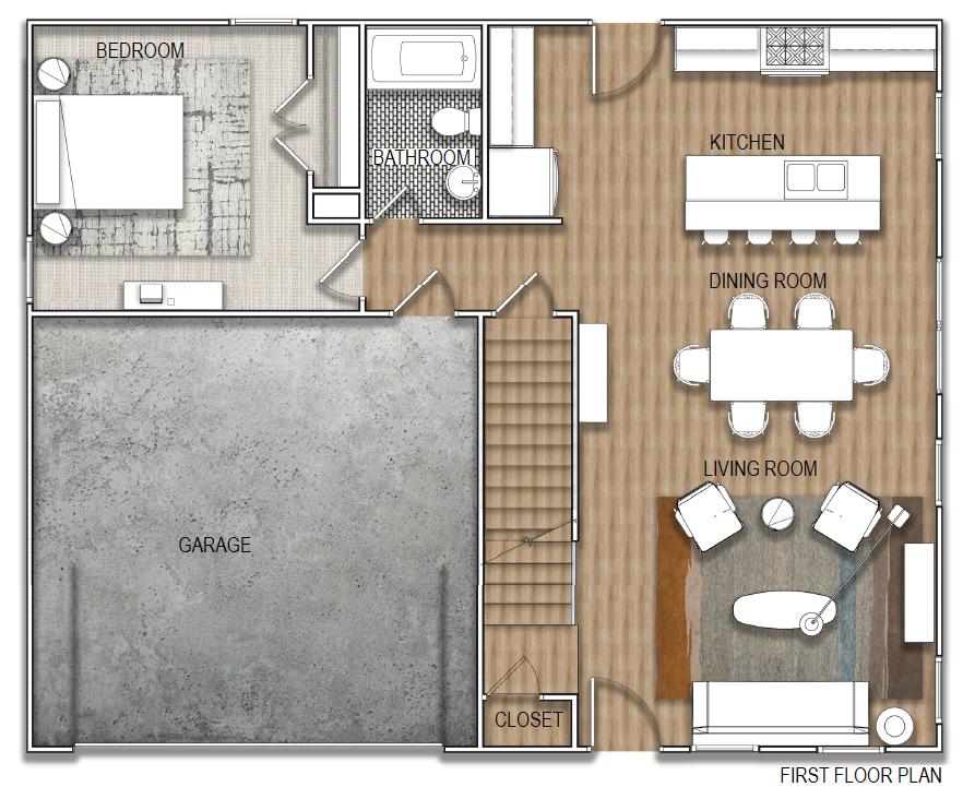 floor plan-level 1
