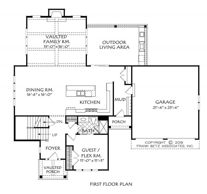 floor plan-first floor