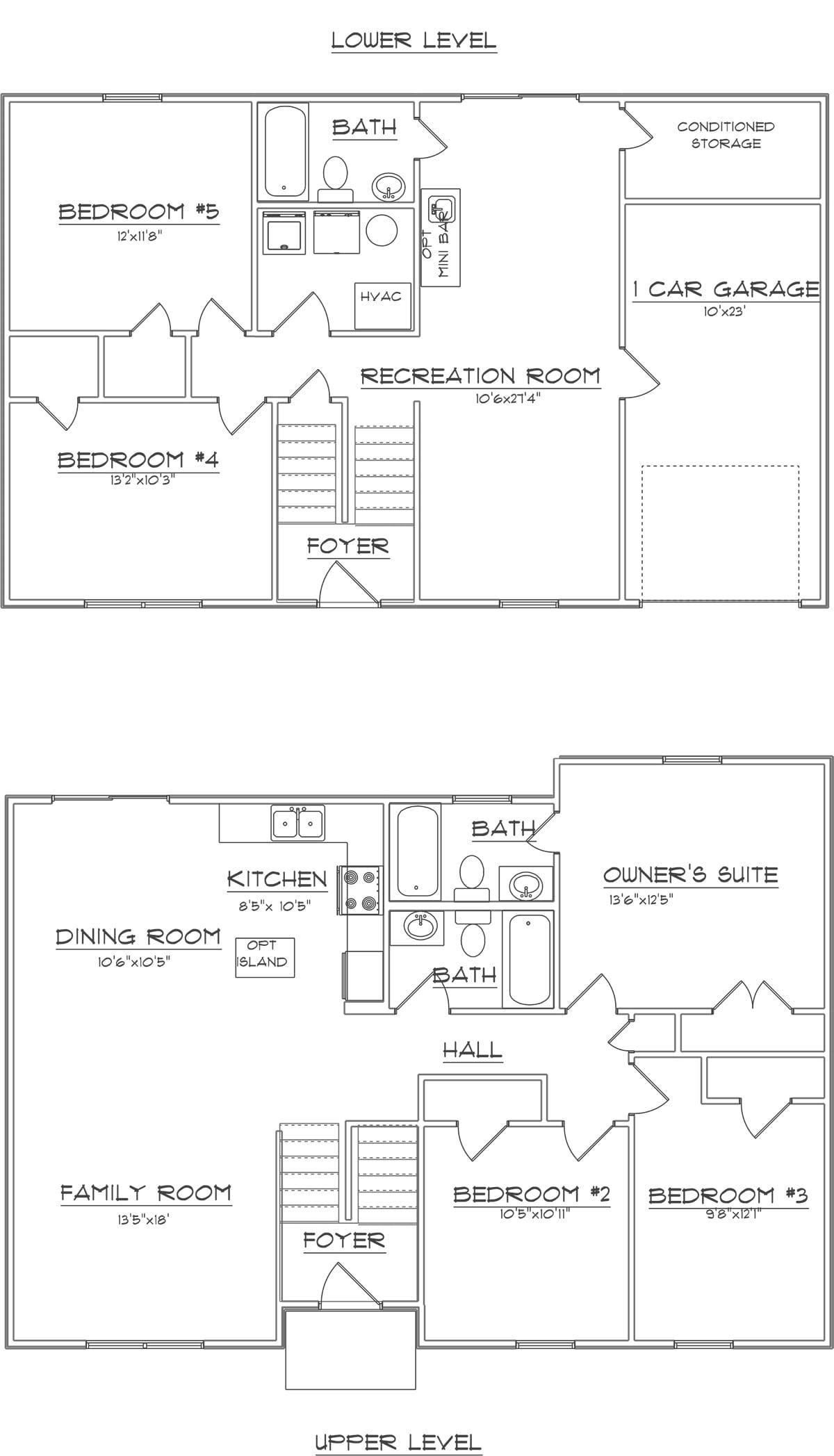lewis plan - 2st floor